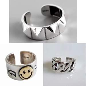 3 superfina ringar, 150kr/st eller alla 3 för 400 ink frakt!!