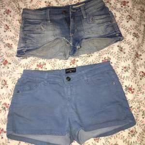Översta är i storlek XS, den undre är i storlek Small/36. Säljes eftersom de inte kommer till användning. Båda för 200 kr.  Köparen står för frakt.   #Shorts