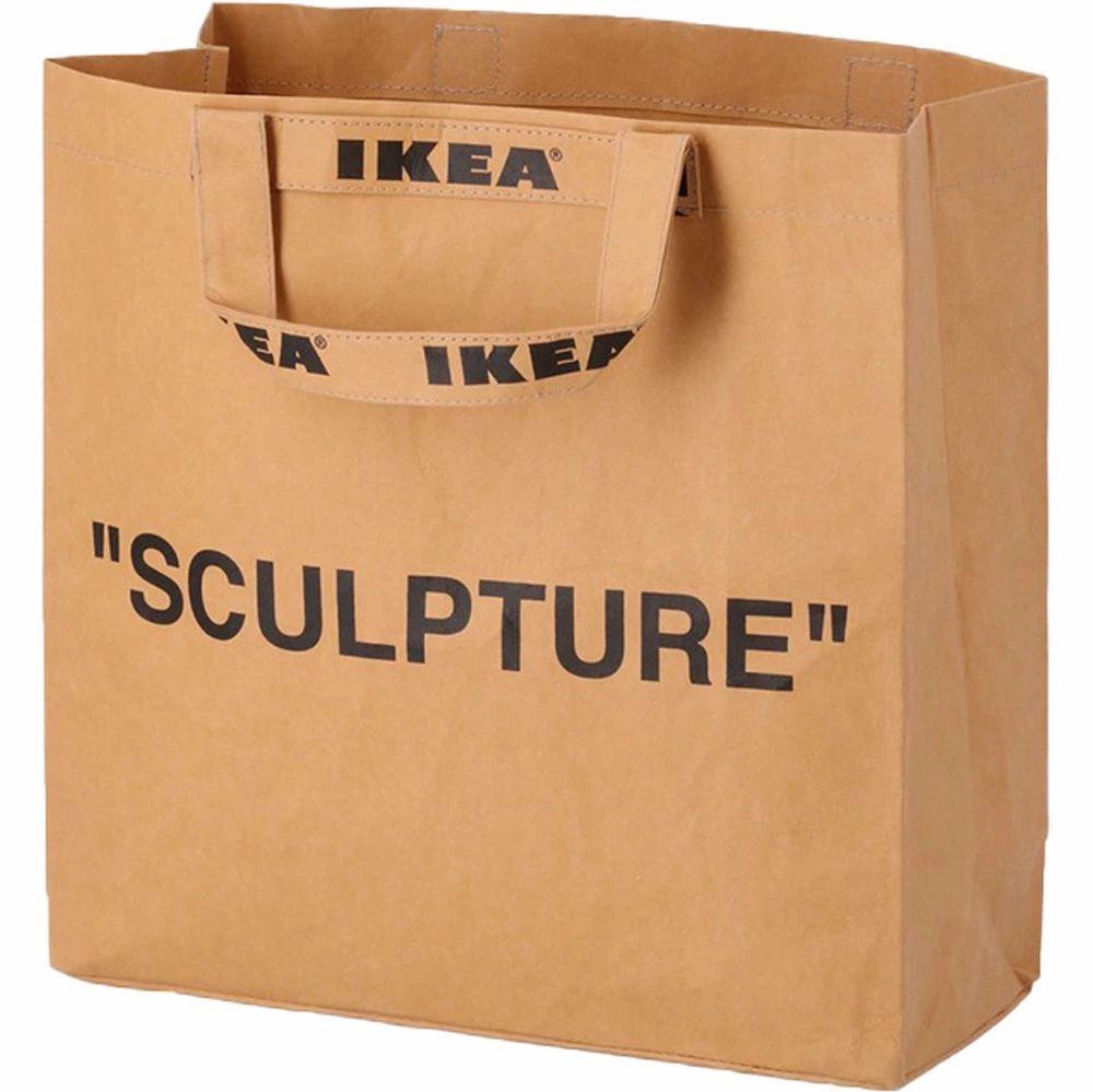 Köpte den på Ikea när de släppte sitt sammarbete med Virgil Abloh / Off White. Den är helt ny och har aldrig använts. . Väskor.
