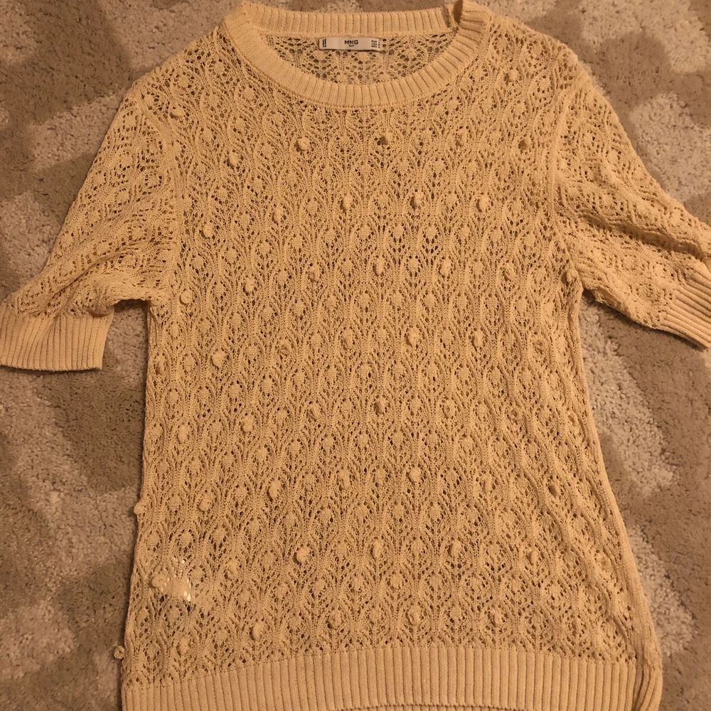 Mango mesh top completely used. Toppar.