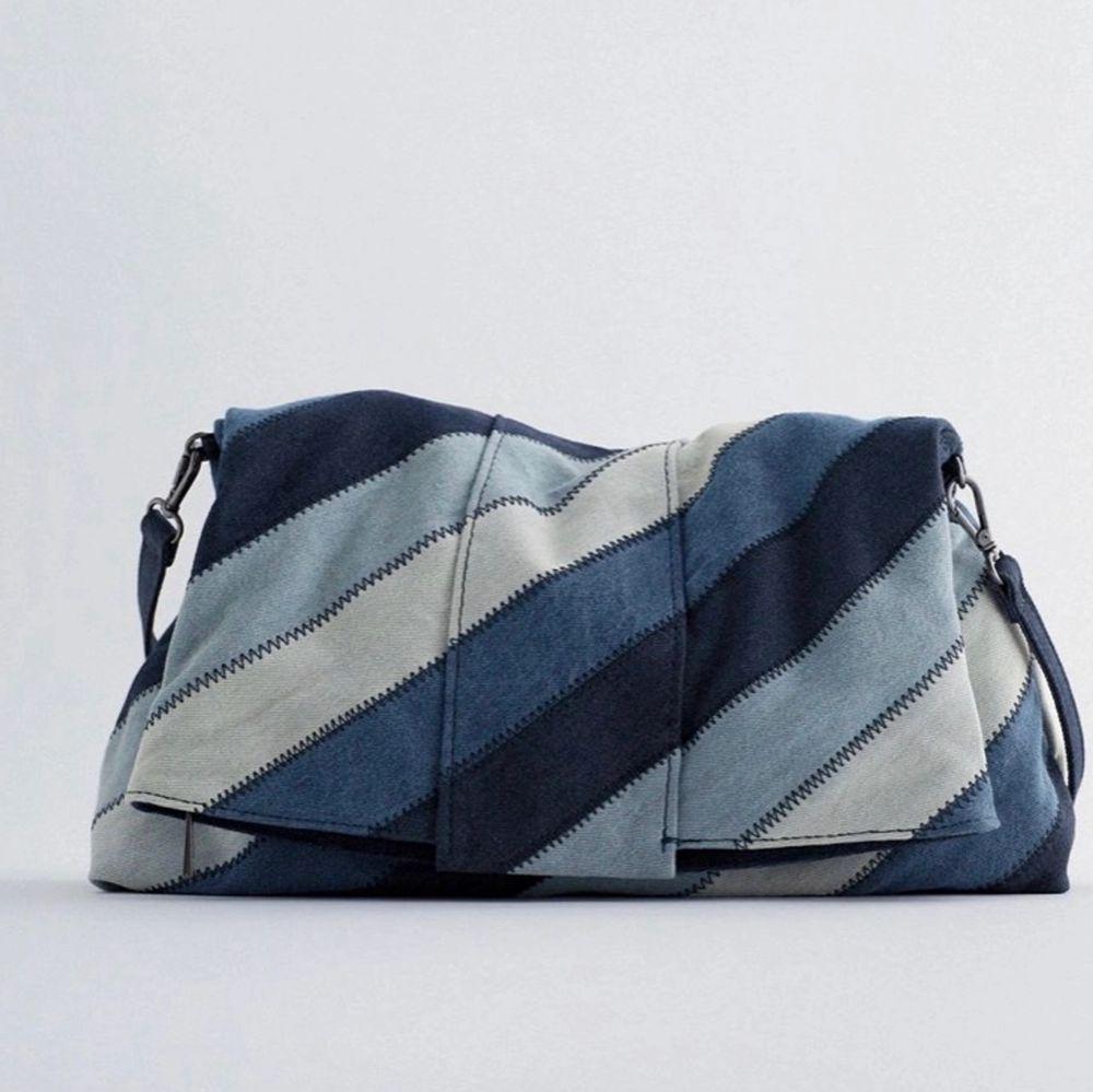 Säljer denna zara väska då den inte kommer till användning! Skriv för fler bilder . Väskor.