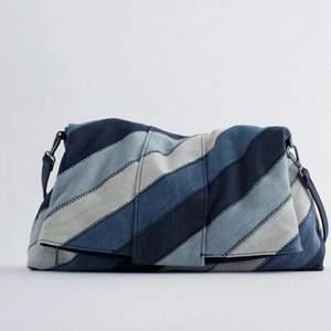 Säljer denna zara väska då den inte kommer till användning! Skriv för fler bilder