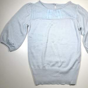Superfin ljusblå färgad tröja, perfekt till ett par snygga jeans 👖 Köparen står för frakt 📩 3 för 100kr på min profil ✨