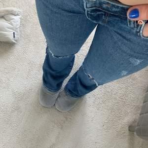 Säljer dehär fina jeansen från Gina!