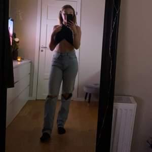 Säljer mina jeans från Gina tricot. Så fina