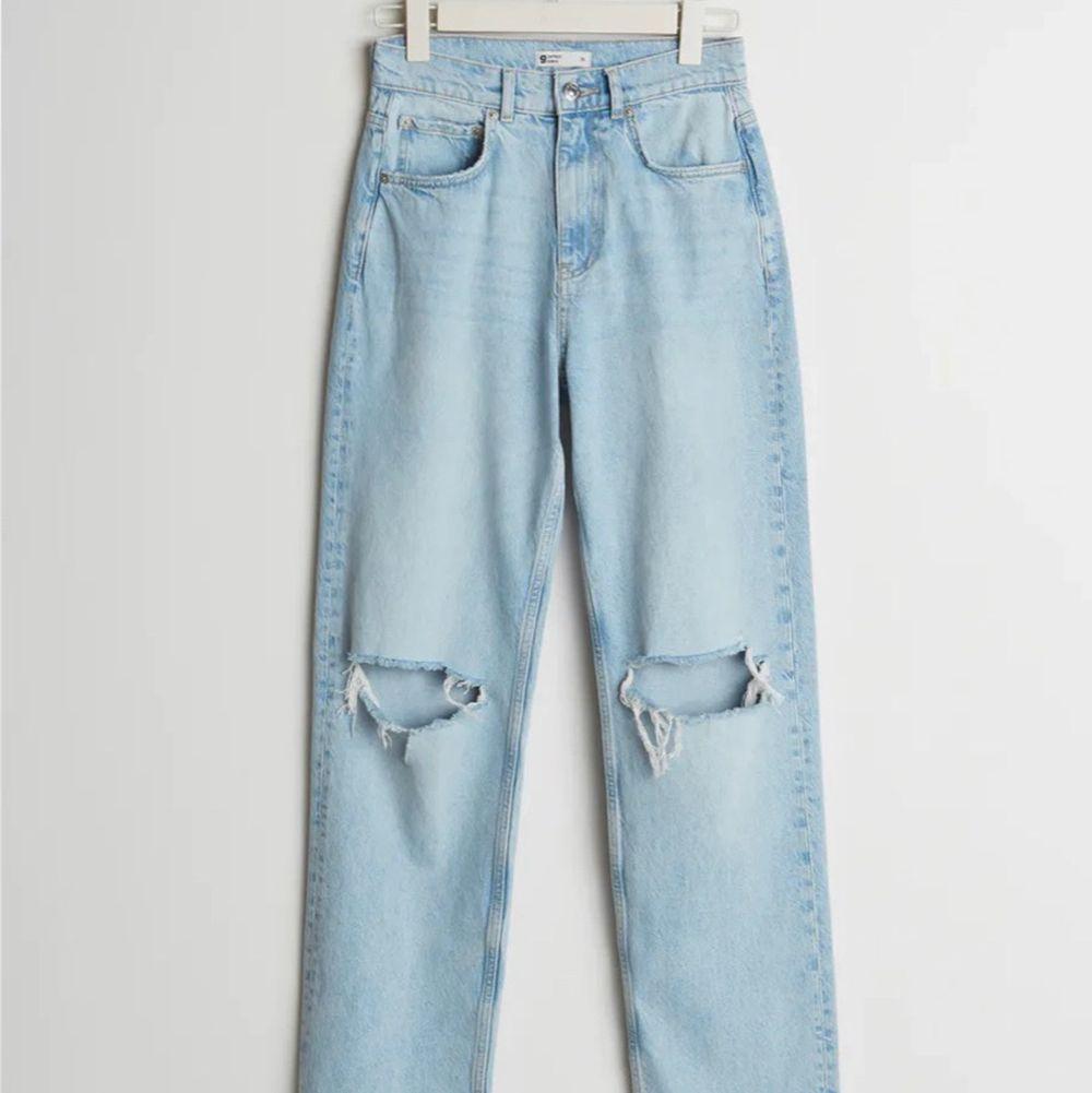 Superfina jeans från Gina tricot, bra skick💕👍🏼. Jeans & Byxor.