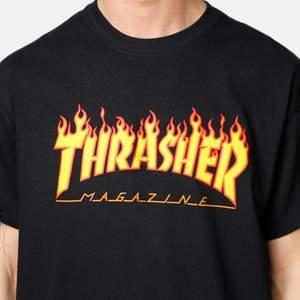 En svart thrasher t-shirt i bra skick för mer info skriv privat