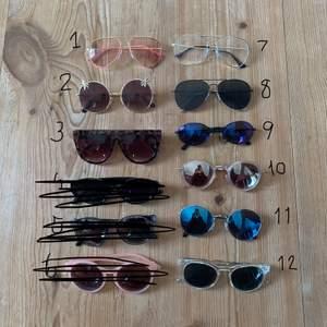 1 par för 25kr, 2 för 40kr och 3 för 60kr! Glasögon som inte är strukna finns kvar!