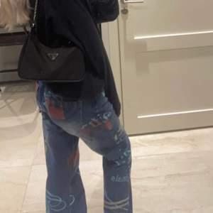 Världens finaste jaded london jeans jag köpte här på plick men som tyvärr var för små.. tror dem kostar runt 750kr nya. Jätte bra skick! Köparen står för frakt