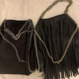 Två söta handväskor säljer båda två för 300 kr