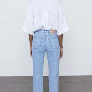 Mom jeans från zara i nyskick