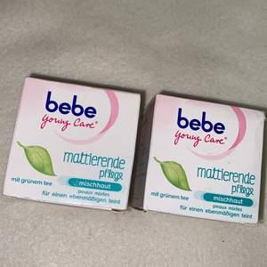 Bebe young Care med japanskt grönt te och mineraler återfuktar huden i 24 timmar och ger dig vacker, naturlig och mjuk hud. Den är dermatologiskt testad       Användning: efter rengöring.                                               25 kr styck
