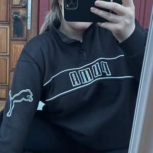 Säljer denna vintage sweatshirt ifrån Puma! Den är i storlek XXL men är liten i storleken.