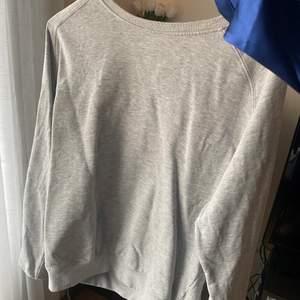 Grå sweatshirt, storlek M. Från lager 157. 60kr frakten ingår i priset🤩