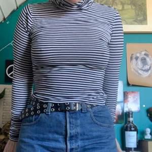 Långärmad tröja med polokrage i mjukt och stretchigt material                                               Kommer aldrig till användning längre, Storlek M men som sagt, stretchig                                          Hund i hemmet       50kr +frakt
