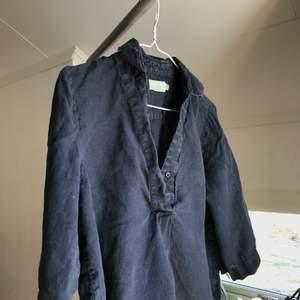 linne skjorta från MORRIS, med kortare ärm med mudd💘 inprincip aldrig använd