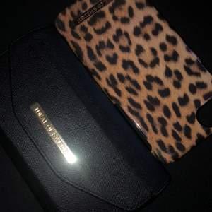 Ideal of sweden mobil skal✨ ny pris leopard skal 299kr ✨ nypris plånboks skal 399kr✨ dem är i JÄTTE bra skick nästan aldrig använda då jag fick en ny mobil i sammanhang när jag fick dem här skalen✨