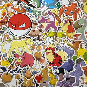 Super söta Pokémon stickers 🤍 perfekta till att klistra på datorn eller mobilskal!! Säljer dessa då jag råkade köpa för många. Alla är runt 6cm, vissa lite större och vissa något mindre💗 skicka privat för fler bilder, frågor eller vid intresse! 💗5kr/st💗