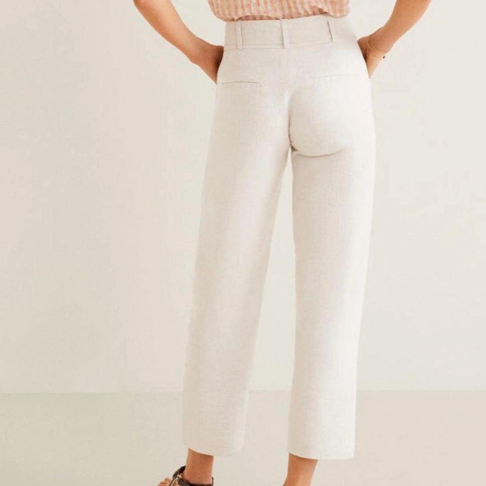 Superfina linnebyxor från mango. Storlek XS❤️. Jeans & Byxor.