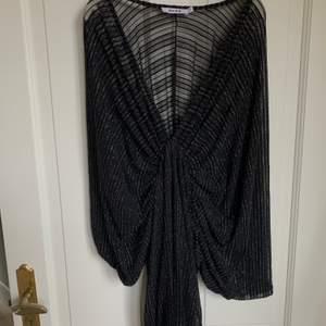 Säljer nu denna fina klänningen från NAKD😁Så fin till sommaren likaväl som vintern, den är endast använd en gång och i storlek small🥰✨