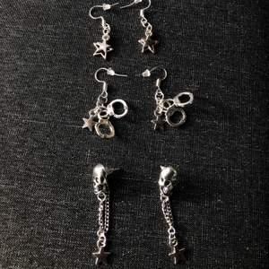 Säljer dessa handgjorda oanvända örhängerna för 60kr/st inklusive frakt⭐️💕✨