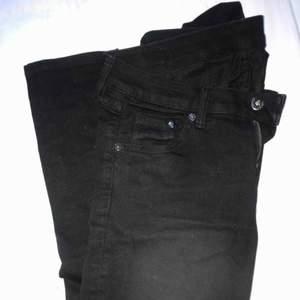 super skinny low waist jeans (black)