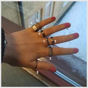 Handgjorda ringar i rostfritt stål! Skitfeta i silverfärg och anpassas efter dig: skriv vilken modell du vill ha och din storlek när du beställer (helst diameter)✨ Dessa är en beställningsvara och leveranstiden är max 3 veckor! Eftersom att de är handgjorda ser de inte exakt ut som de på bilderna, men det är inte stor skillnad :) 1 för 100 & 2 för 170, frakten bjuder jag på 🥰