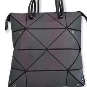 Women Matt Bao Bag Transforming bag Women Bags For Women Luminous Geometric Ladies Crossbody Shoulder Bag Deform Tote Bag
