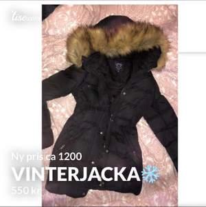 Super bra skick på en jätte sparsamt använd vinter jacka säljer pga har ingen andvändning för den