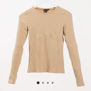 NY, utan prislapp. Jättefin ribbad tröja med sömndetalj fån New look. Original pris: 139:-