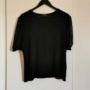 Cool shirt with mesh puff arms. Soft fabric and just a basic clothing. Bought in London from New Look, never worn.