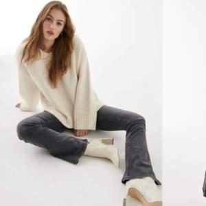 Säljer mina bootcut jeans från Gina. Eftersom aldrig avändigt dom och dessutom lite för små! Så dessa är i ett bra skick och väldigt fina☺️ köpta för 399kr säljer för 250
