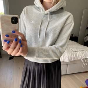 Svin snygg grå hoodie från CK. Nypris: ca 900kr