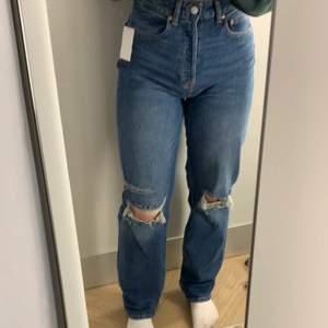 Väldigt fina jeans från H&M som knappt är använda då dom är lite för stora för mig