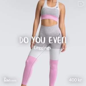 Leggings Stl S Färg rosa/grå  Nytt, prövade sen aldrig använda.  Priset inkluderar INTE Frakt om de ska skickas.  Kan överlämnas i Malmö området. Se gärna över andra annonser jag har! Betalning sker med Swish innan jag postar varan. #doyoueven #sportbh#leggings