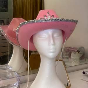 Rosa cowboy hatt <3 frakt tillkommer 🦋🦋
