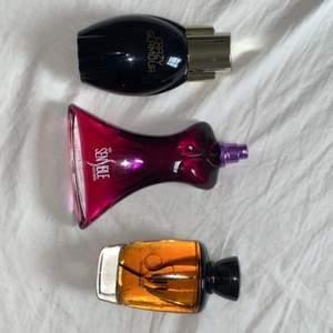 ALLA FEM parfymer för 200 kr frakten är inräknad i priset så parfymerna kostar ungefär 160 kanske.. 🥰 väldigt bra pris för så många parfymer. Då jag bara använder två så kommer dessa inte till användning och vill sprida sin goda doft hos nån annan 😍