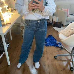 Blåa jeans från Asos collusion. Knappt använda så dem är som nya.