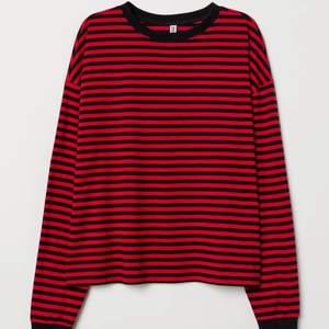 Randig tröja från H&M. Storlek M. 60kr frakten är inräknad i priset🤩