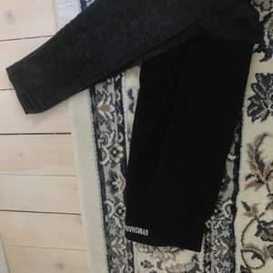 Nyskick svarta tights gymstark