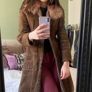 Jättesöt vintage kappa, köparen står för frakt💕