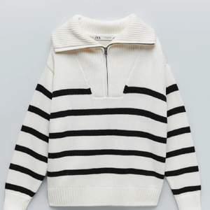Säljer min andra zip tröja från zara då den inte används. Aldrig använd. Storlek L men passar allt från S-L. Frakt tillkommer på 66kr.