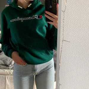 Grön Champion hoodie
