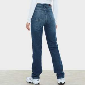 As balla jeans ifrån bikbok säljer då dem inte kommer till användning, användt en gång,storlek 25, passar någon som har xs-s i jeans.
