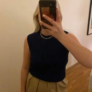 Mörkblå fin väst💕 köpt på secondhand.