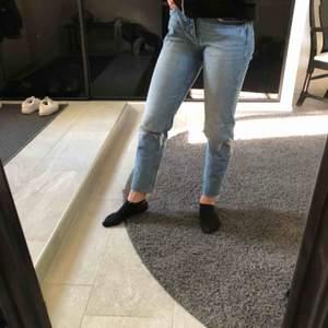Intressekoll på jättefina somriga jeans från zara Sparsamt använda😋