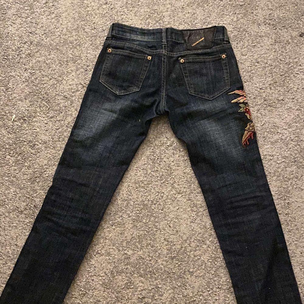 Svin coola ed hardy jeans i storlek 25, knappt använda. Jeans & Byxor.