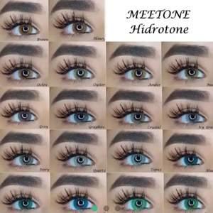 Linser från märket meetone.Hidrotone Årliga och garanterat💯 Med känsliga ögon Ljus på ögat.... bred droppar 14.50mm🥰