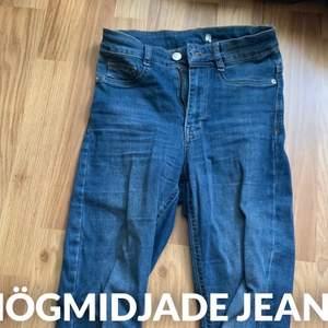 Högmidjade jeans från Gina tricot modell Molly highwaist