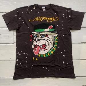 Ed Hardy Vintage Classic Bulldog T-shirt, Den är som ny storlek L